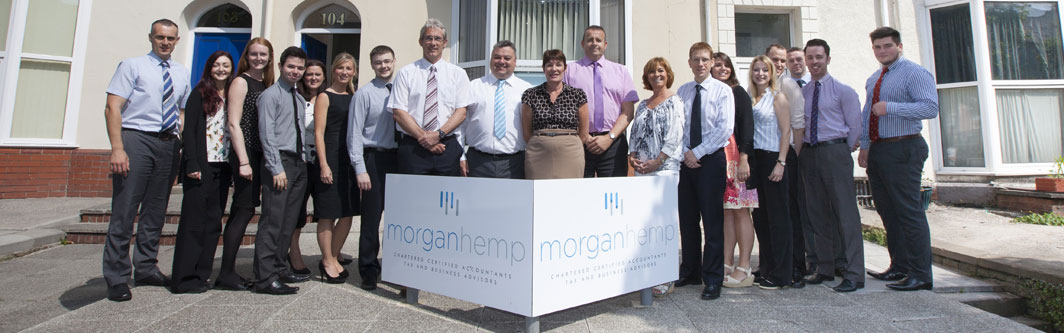 Morgan Hemp Accountant team - Swansea